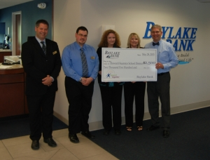 Baylake donation